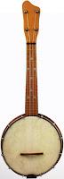 brass maxitone gumby head banjolele banjo ukulele