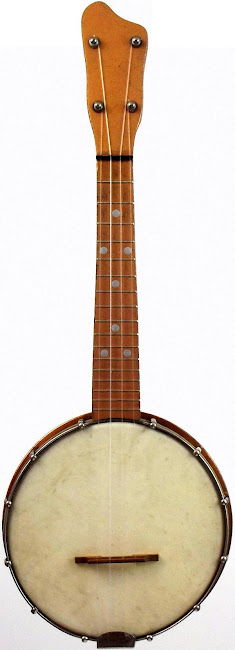 Musical Instruments Specialities Co. standard Bajolele banjo ukulele with UKing tailpiece