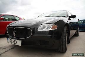 Black Maserati Quattroporte