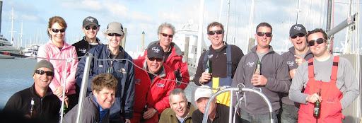 Elliott 12 'Mojo' with the new Dibley designed Keel, Bulb, Rudder and Prod. End of a successfull 2010 RNZYS Winter series