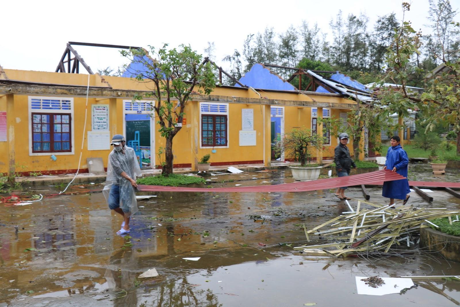 Thiên tai tại Việt Nam gây nên nhiều thiệt hại lớn