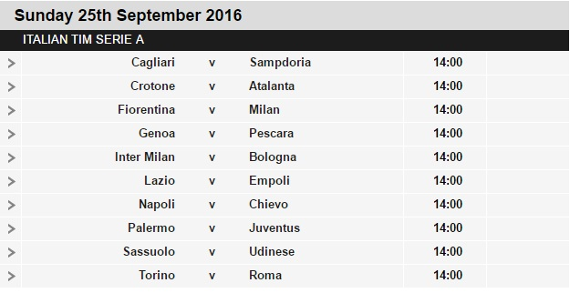 Serie%2BA%2Bschedule%2B6 Planning a Football Trip to Italy - SERIE A FIXTURES 2016/17