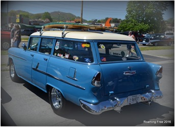 Cool surfer wagon