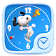 Download Snoopy GO Clock Theme For PC Windows and Mac