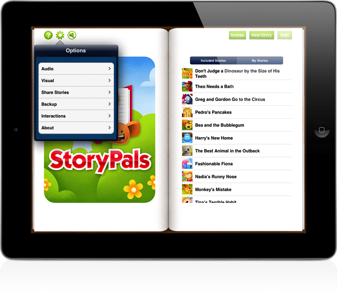 StoryPals Main Page