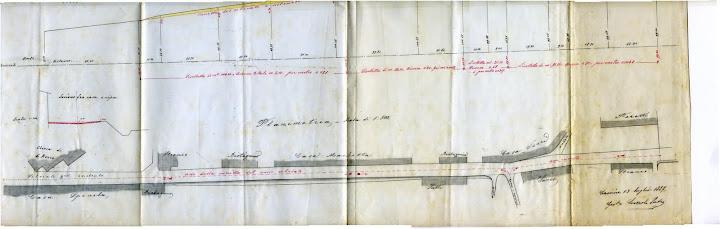 Planimetria Via Barocchio 1887