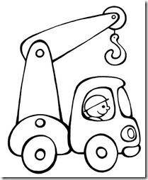 medios de transporte colorear niños (30)
