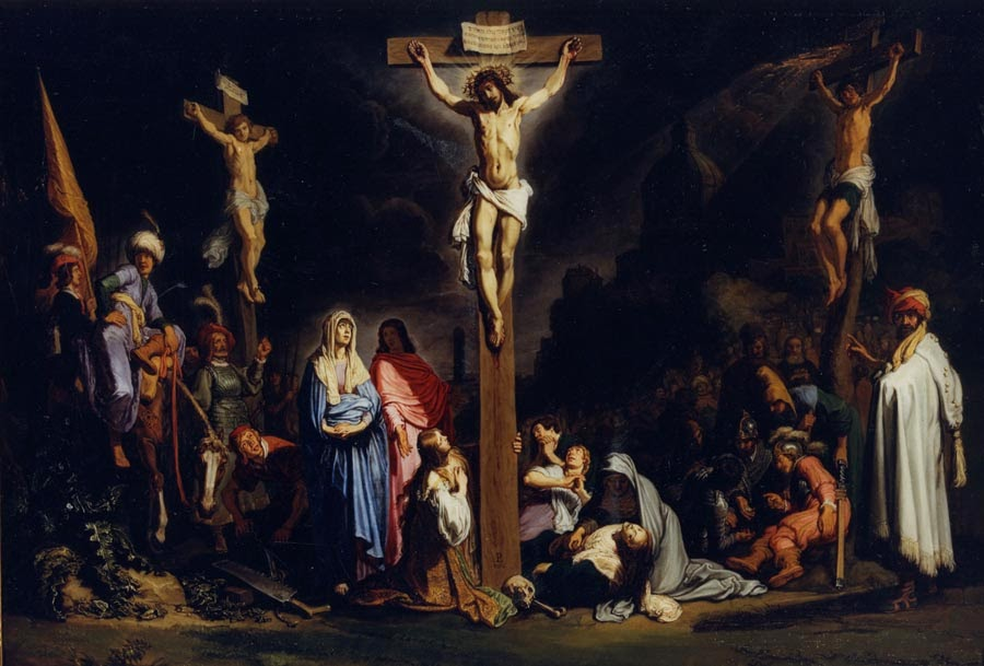 Pieter Lastman - The Crucifixion