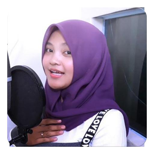 DJ Adek Jilbab Ungu Terbaru