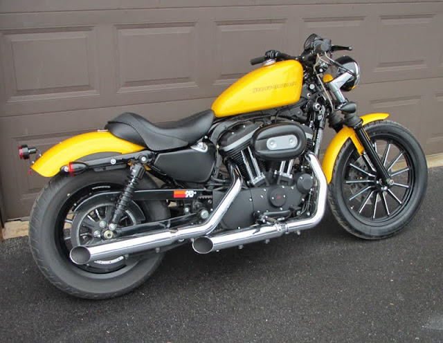 The Yellow Sportster   a build thread - Page 2 - Harley