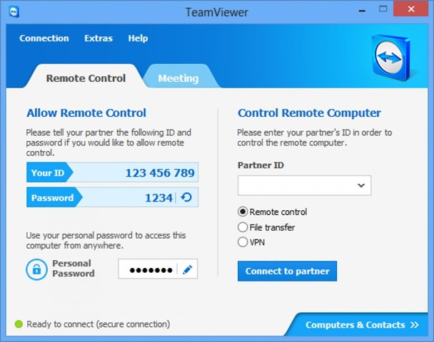 برنامج تيم فيور TeamViewer 11.0.62308