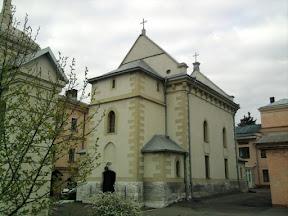 Львовский монастырь и костел миссионеров