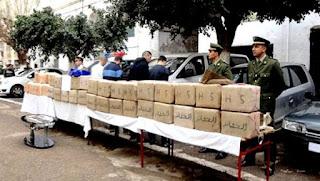 Alger: saisie de plus de 7,5 quintaux de stupéfiants et arrestation de 5 narcotrafiquants (GN)