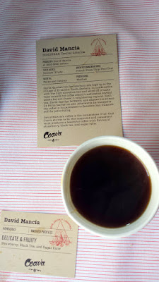 Portland Monthly Country Brunch 2016 Coava Coffee brought David Mancia single sourced from Honduras