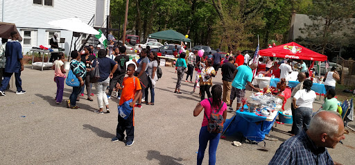 """The church held an """"International Festival"""" that attracted a lot of the neighborhood!"""