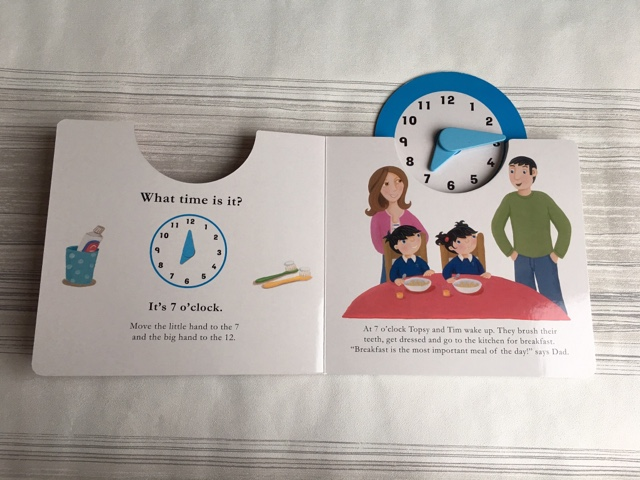 topsy and tim time book