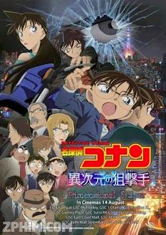 Conan 18: Sát Thủ Bắn Tỉa Không Tưởng - Conan Movie 18: Dimensional Sniper (2014) Poster