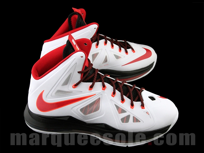 competitive price f5320 8c042 ... First Look Nike LeBron X Miami Heat Home ...