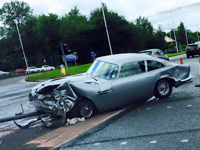 Aston Martin Wreck