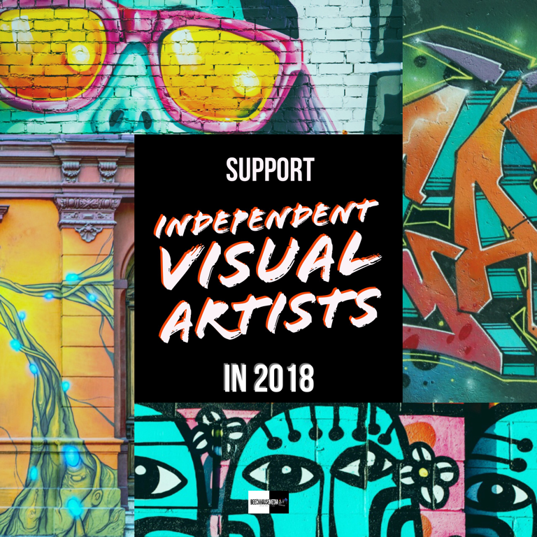 support independent artists in 2018