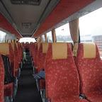 Het interieur van de VDL Berkhof / Volvo van Van Fraassen Travelling bus 465