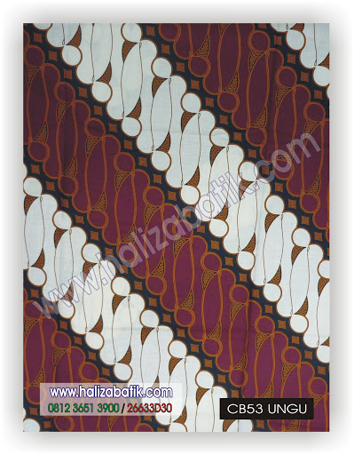 Desain Baju Batik Modern, Grosir Busana, Baju Batik Wanita, CB53 UNGU