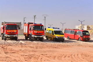 Adrar : création de deux postes avancés à Tanezrouft, pour renforcer les activités de la protection civile