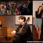 13: Envolvente concierto de Andrea Vettoretti, donde tuvimos oportunidad de ver un espectáculo de guitarra, acompañado de los poemas recitados por Alice Guidolin con el telón de fondo de coloridas animaciones del artista Mirko Artuso, que nos sumieron por momentos, en un mundo mágico.
