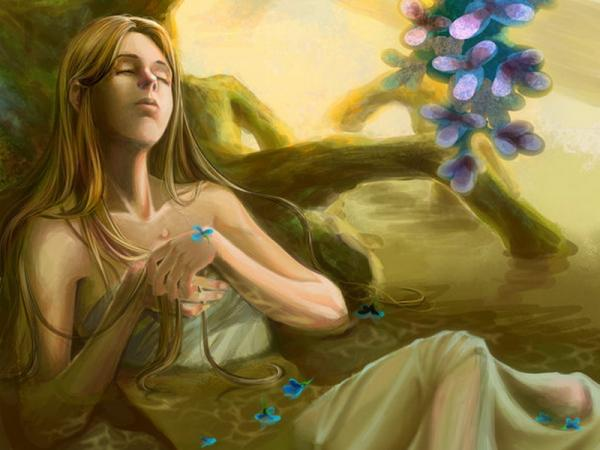 Sleeping Girl In The Swamp, Undines