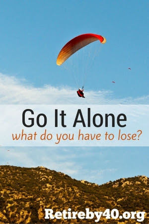 Go it alone - self employment