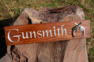 Photo: Carved Signs shipped to Minnesota. See more carved signs at www.nicecarvings.com