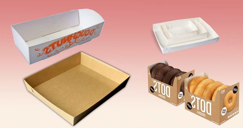 Customized food tray boxes