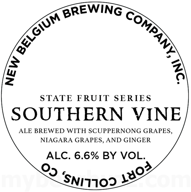 New Belgium State Fruit Series - Southern Vine
