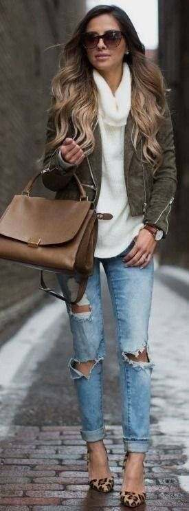 casual winter outfits 2017