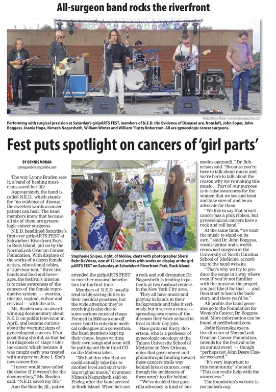 dispatch argus article july 12 2015