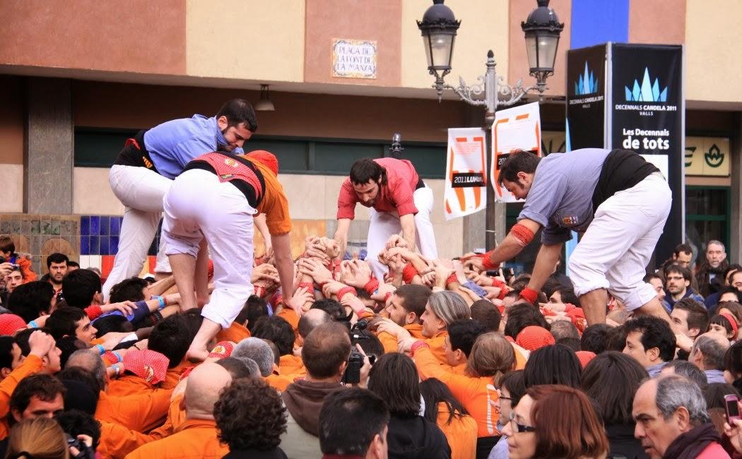 Decennals de la Candela, Valls 30-01-11 - 20110130_158_4d7_Eix_Valls_Decennals_Candela.jpg
