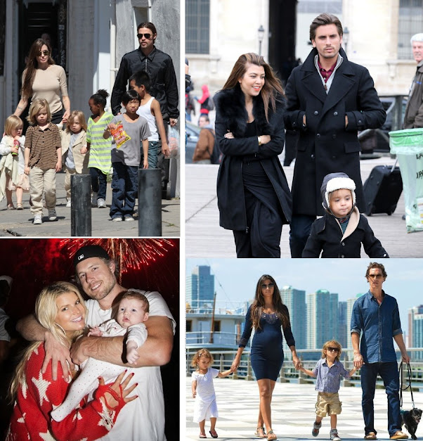 Famous married couples with children