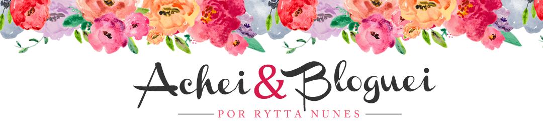 Achei e Bloguei
