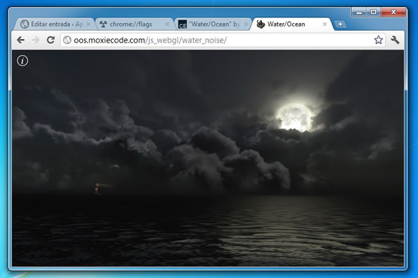 WebGL en Chrome Windows 7