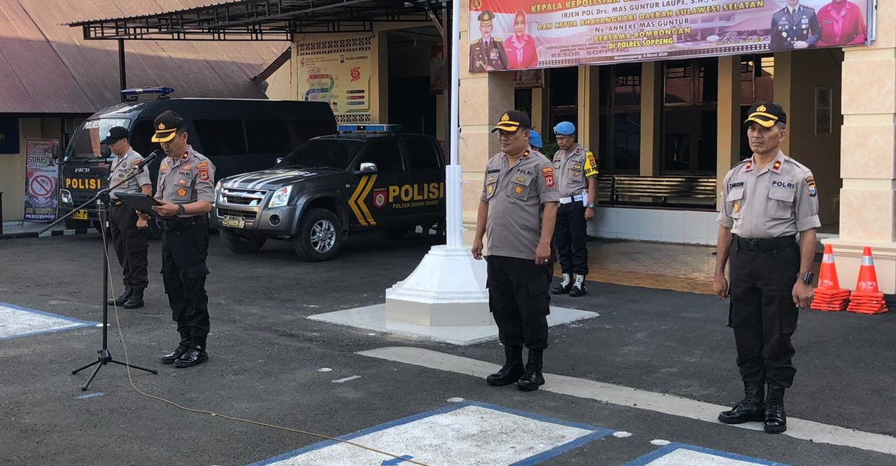 Kompol Umar Polres Soppeng Sebut Penerimaan Anggota Polri TA 2020 Bebas KKN dan Calo