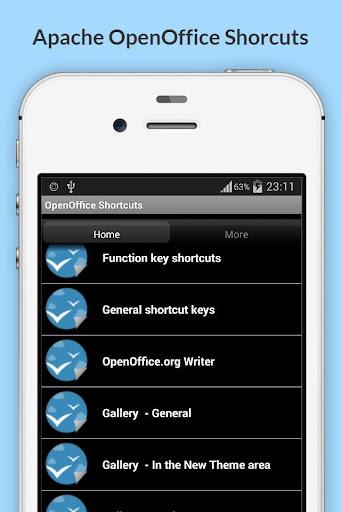 Free OpenOffice Shortcuts