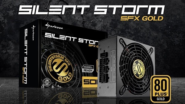 Sharkoon Silent Storm 500W Gold