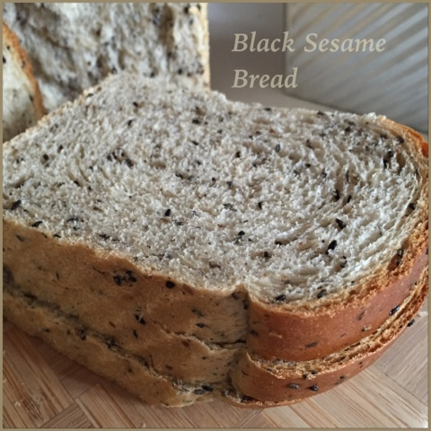 my mind patch black sesame seed bread 黑芝麻吐司
