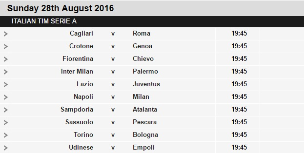 Serie%2BA%2Bschedule%2B2 Planning a Football Trip to Italy - SERIE A FIXTURES 2016/17