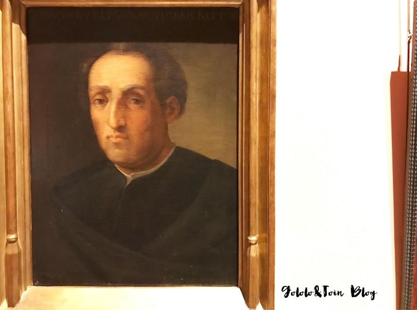 Cuadro de Cristóbal Colón en el Museo Naval de Madrid