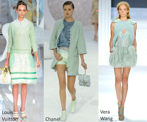 Inspected Trend Mint Green Louis Vuitton Chanel Vera Wang