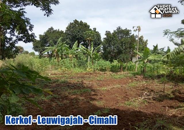 Tanah Datar di Jl. Kerkof Leuwigajah Cimahi Selatan Dekat Tol Baros Harga 2,5Jt-an