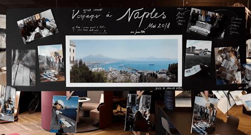 expo JEANNE PAPA _Aquarelles et Carnets de Voyage et éleves_ Mercure Fontainebleau 03