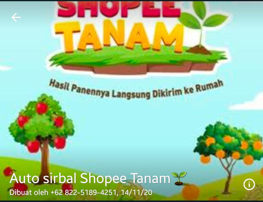 Grup WA (Whatsapp) Shopee Tanam Siram Link Tautan
