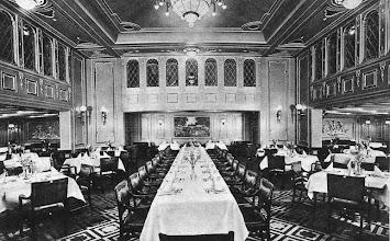 Photo: BERLIN DINING ROOM FIRST CLASS (Norddeutscher Lloyd)